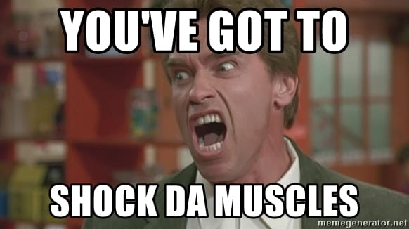 shock the muscle
