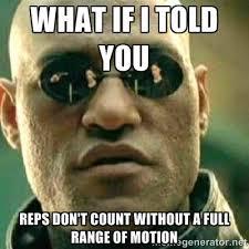 range of motion spiermassa