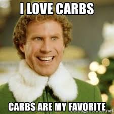 i love carbs meme